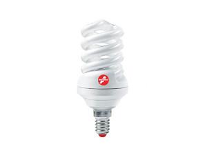 Лампа КЛЛ 9W E14 2700К тёплый свет Экономка Трубка T2