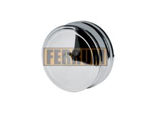 Заглушка внешняя д/трубы, 430/0,5 мм, Ф150, нижняя Ferrum