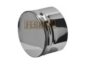 Заглушка для ревизии, 430/0,5 мм, Ф210, внутренняя Ferrum