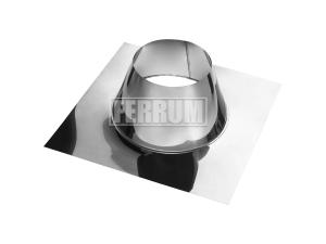 Крышная разделка прямая, 430/0,5, Ф200 Ferrum