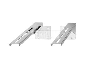 Штанга для стенового хомута, AISI 430, L 500 Ferrum