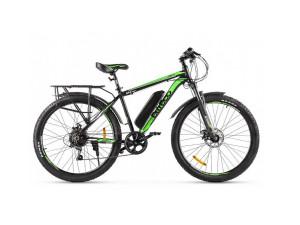 Электровелосипед (велогибрид) черно-зеленый Eltreco XT 800 new